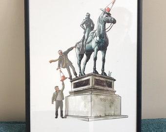 Still Game - Duke of Wellington - Art Print