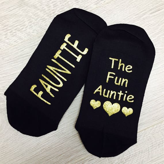 great fit shoes for cheap wide range Fauntie The Fun Auntie Socks