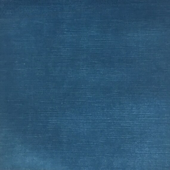 "Ocean SOLID DRAPERY UPHOLSTERY JEWEL VELVET FABRIC 55/"" WIDE BY YARD SOFAS"