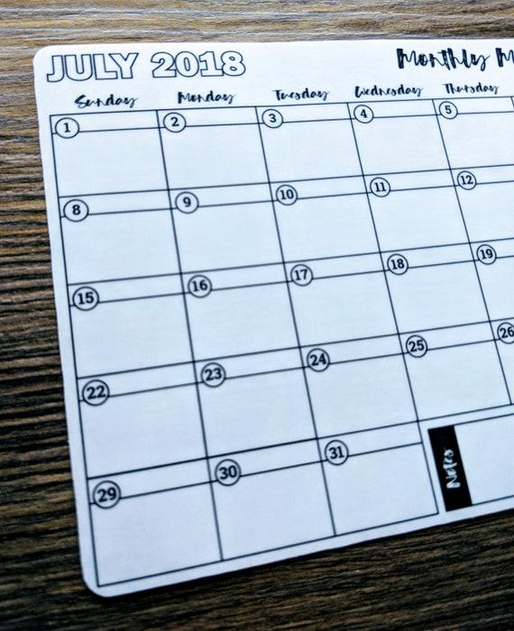 Aufkleber Juli 2018 Mahlzeit-Planung Bullet Journal