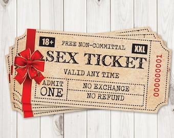 Christmas Gift for Him, Printable Sex Tickets. Kinky Coupon for Boyfriend, Cheap Husband Sexy Gift. Naughty Santa Game, PDF