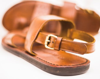 Handmade Men's/Boys Leather Sandals.