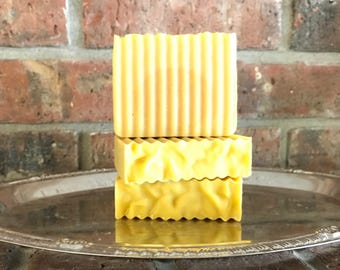 Sweet Baby Soap handcrafted homemade goats milk soap all natural lavender scent