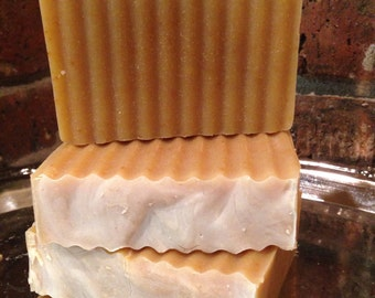 Rosemary Peppermint Eucalyptus Goats Milk Soap all natural handcrafted