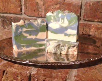Beach Vacation Handcrafted Artisan Soap summer scent