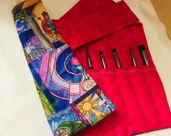 Enchanted rose 10 slot brush roller
