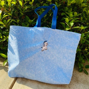Dopey Mouse  embroidered tote bag makeup bag Name embroidery available blanket or towels