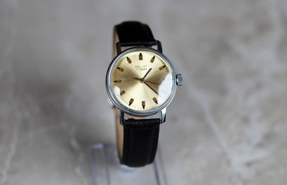 "Vintage mechanical watch ""Poljot"", 1970s. Watch fo"