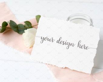 A2 card mockup etsy reheart Choice Image
