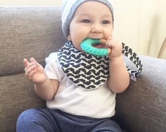 Baby Bibs, Drool Bibs, Teething Bibs, Spring Print Bibs