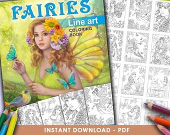 PDF Line Art  books
