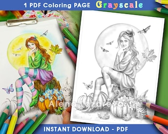 PDF Grayscale pages