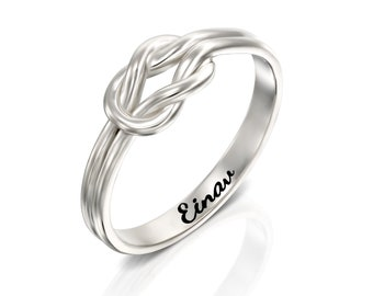 ec86d26ed9e81 Sailor knot ring   Etsy