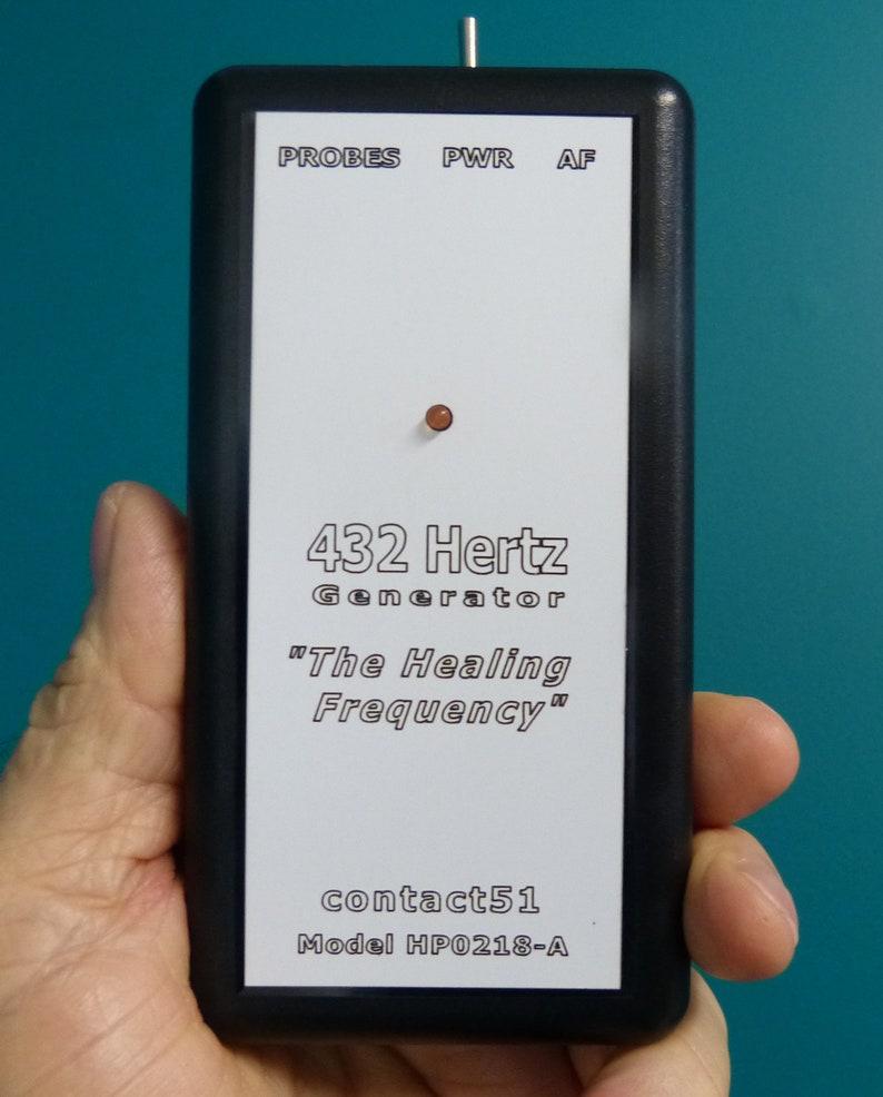 432 Hertz Healing Frequency Generator