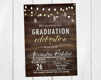 graduation party invitation graduation invitation college etsy