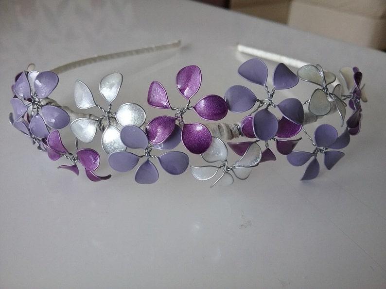 Festive purple Hairband