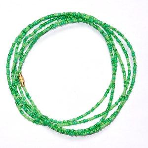 With Clasps African Waist Beads Waist Chains Belly Beads Blue Oval Maasai Waist Beads