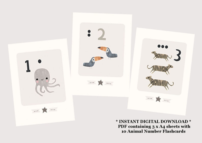image regarding Number Flashcards Printable called A6 Smaller sized Printable Quantity Flashcards - Printable Counting Flashcards - Printable Flashcards - Counting Flash Playing cards - Variety Flashcards