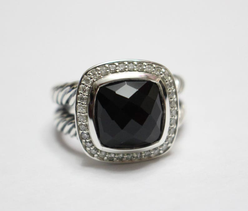 a8095a089ea2b DAVID YURMAN Albion WITH 11 mm Black Onyx and Pave Diamonds