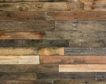 reclaimed barn wood etsyreclaimed wood boards 5 square feet dark mix reclaimed wood planks reclaimed barn wood ready to install wood accent wall pallet wall shiplap