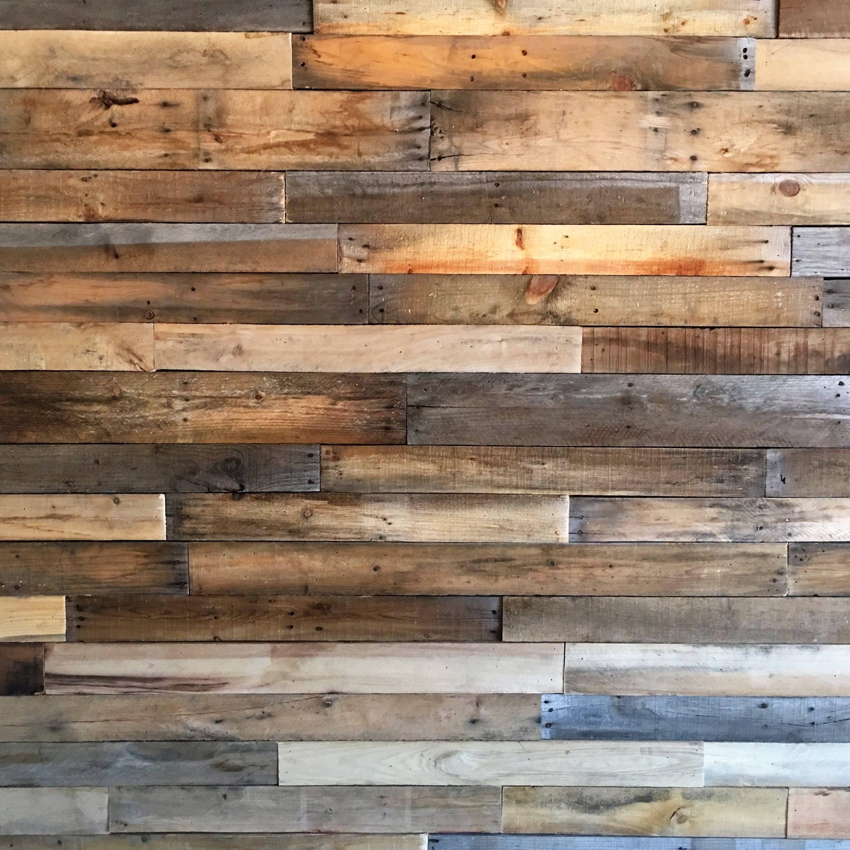Sealed Reclaimed Wood Boards-25 SQ FT Bundle-Reclaimed ...