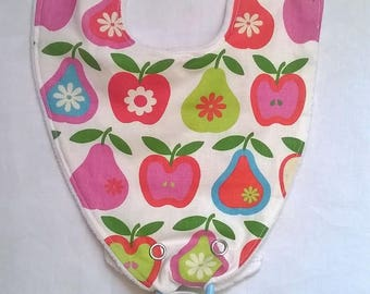 Bib Holder with cotton-certified Oeko-Tex and GOTS