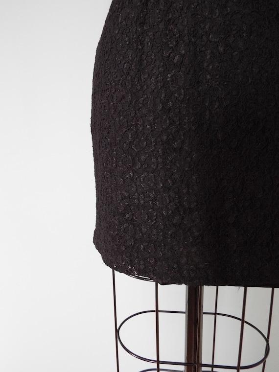 BLACK lace mini dress | little black dress - image 6