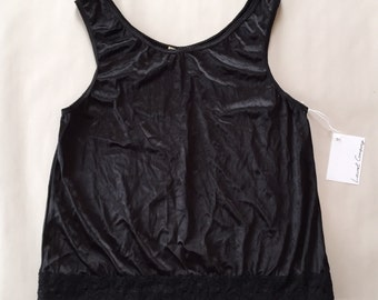 c88436b490bf5 BCBG Paris nude crop top cold shoulders ruffled top skinny