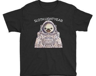 T-shirt ASTRONAUTA T-SHIRT TEE Kids Unisex Per Bambini Spazio COSMONAUTI Astronomia