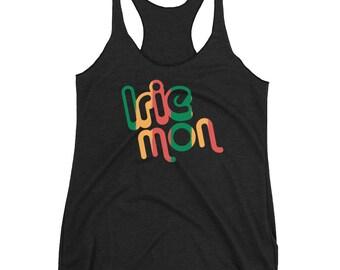 10229319604c2b Irie Mon Reggae Women s Racerback Tank Top