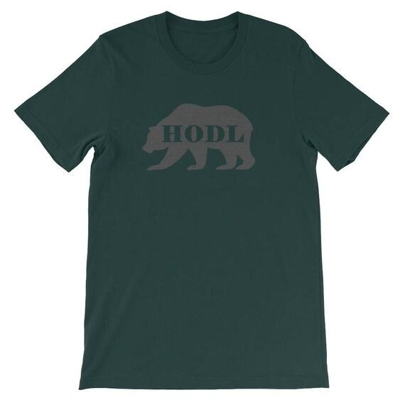 Iltk Calendario.The Crypto Hodl Bear Market Shirt Hold On For Dear Life Men S Short Sleeve Or Unisex T Shirt More Colors Available