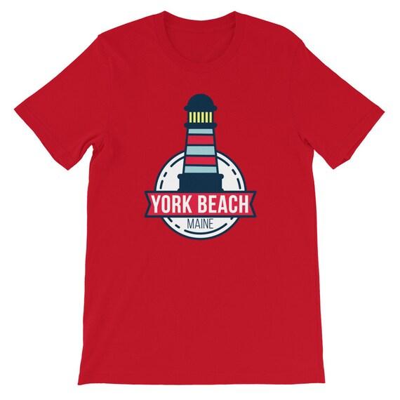 Nubble Lighthouse Maine ME Men/'s Novelty T-Shirt