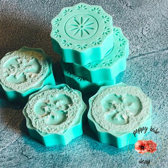 Matcha Latte Loofah Soap