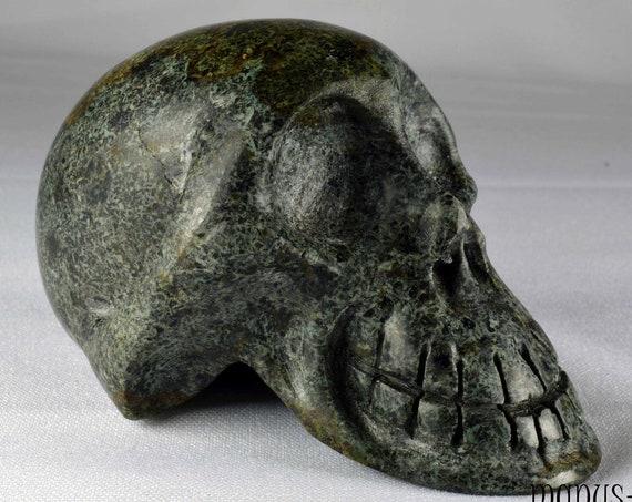 Charming  Un-Spotted PRESELI BLUESTONE Skull (#938)