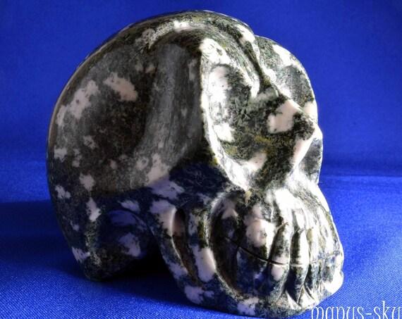 Hypnotizing PRESELI BLUESTONE Skull