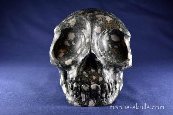 Large PRESELI BLUESTONE Skull ...... (#915)