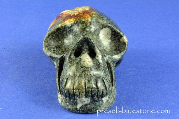 Open Minded PRESELI BLUESTONE Manus Skull .......