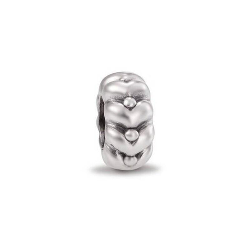 1eb17cb52 Authentic Sterling Silver Pandora Heartbeats Charm | Etsy