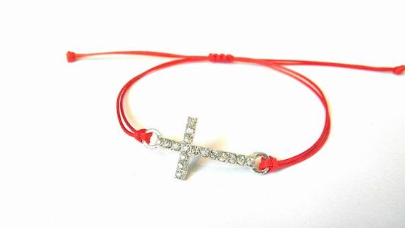 Bracelet fil rouge Bracelet Kabbale Protection Bracelet   Etsy a86dfa0f51c6