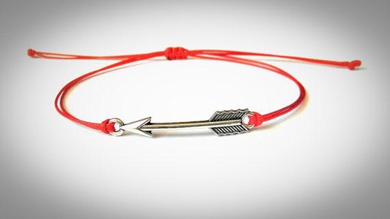 Flèche Bracelet Bracelet fil rouge meilleur ami cadeau   Etsy ff2006800c16