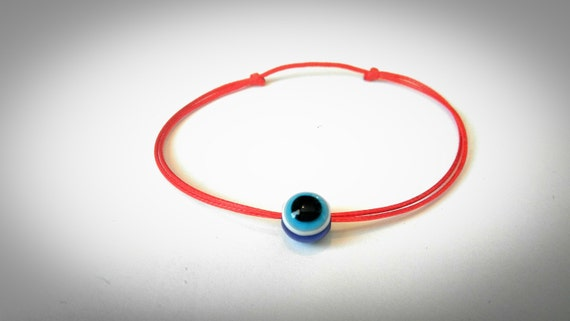 Bracelet en fil rouge fil rouge du destin Kabbale Bracelet   Etsy a4fa839899a9