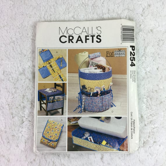Mccalls P254 Or 4274 Sewing Pattern Fat Quarters Sewing Etsy