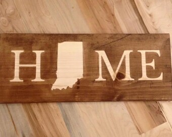 Home - Indiana Wall or Desk Art