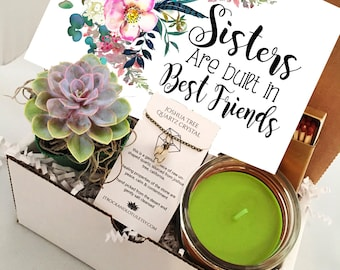 Sisters Succulent Gift Box Set