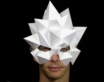 BLAST Mask - Easy Low-Poly polygon mask PDF download