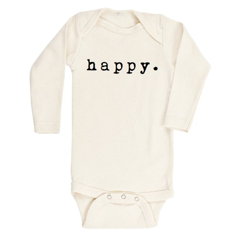 3d981bb97ee8 Happy LONG SLEEVE Baby Girl Boy Infant Toddler Newborn