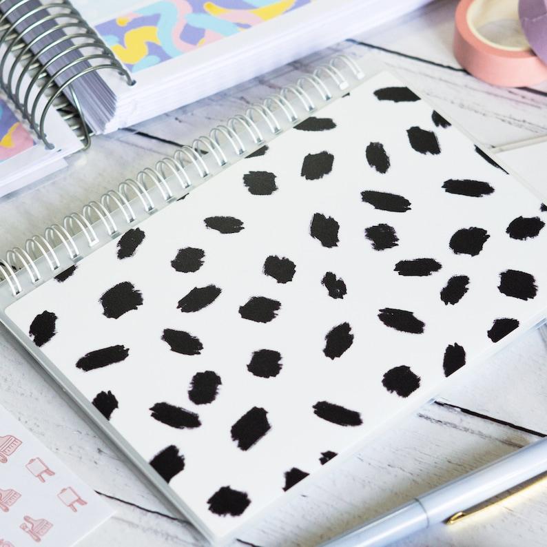 Repositionable Paper Plannerface SPOT Reusable Sticker Album 5 x 7 | Sticker Collecting Book Sticker Storage