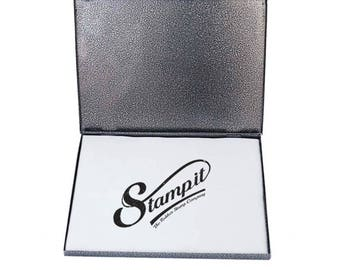 Metal Ink Pads, HUGE METAL STAMP ink Pads for Large rubber stamps, 3 sizes for custom stamps.