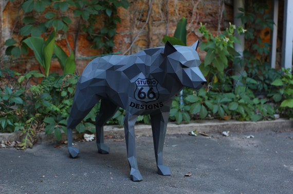 Make your own Origami Wolf | Little Angel Theatre | 379x570