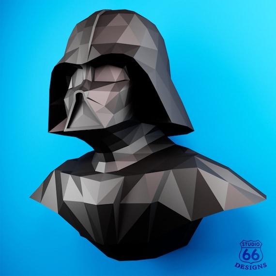 Tutorial] Cómo hacer un Darth Vader en Origami – Arte Feed | 570x570